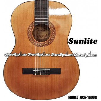 SUNLITE 1600 Series 4/4 Classical Guitar - Natural
