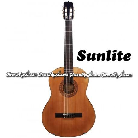 SUNLITE 1600 Series 4/4 Classical Guitar - Natural