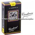 VANDOREN 56 Rue Lepic Bb Clarinet Reeds- Box of 10