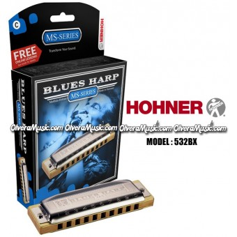 HOHNER Blues Harp MS Series Harmonica