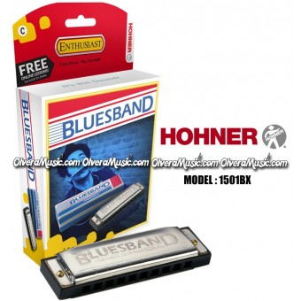 HOHNER Blues Band Harmonica - Key of C