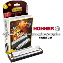 HOHNER Hot Metal Armónica