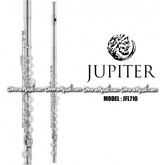 JUPITER Student Model Flute Key of C - Silver Plated