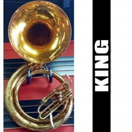 KING Tuba de Metal Lacquer Tono de Sibemol (USADA)