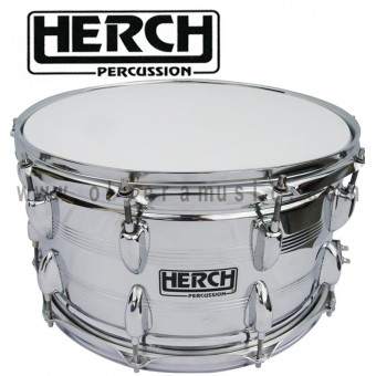 HERCH Snare 14X8 Chrome Finish 10-Lug