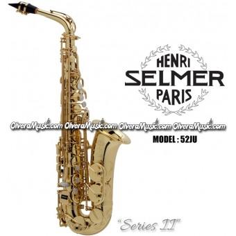 """SELMER PARIS """"Serie II"""" Edición Jubilee Saxofón Alto Profesional - Lacquer"""