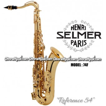 "SELMER PARIS ""Reference 54"" Professional Bb Tenor Saxophone - Dark Lacquer"