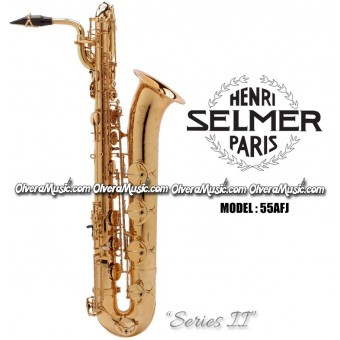 "SELMER PARIS ""Series II"" Jubilee Edition Professional Baritone & Bass Saxophone - Lacquer"