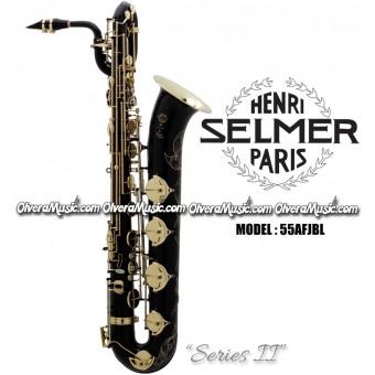 """SELMER PARIS """"Serie II"""" Edición Jubilee Saxofón Baritono Profesional - Lacquer Negro"""