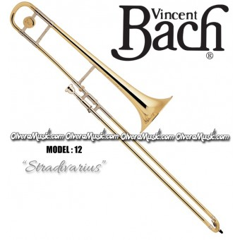 "BACH ""Stradivarius"" Professional Bb Slide Tenor Trombone - Lacquer Finish"