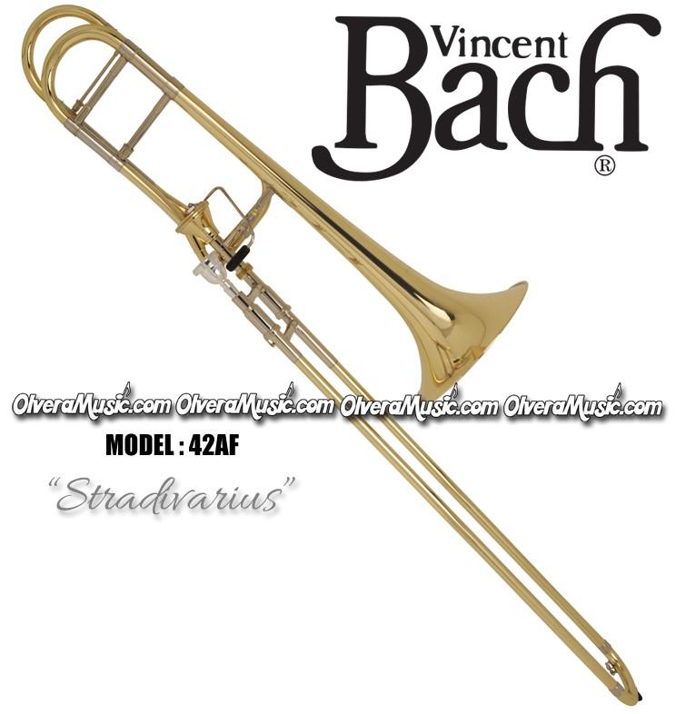 BACH Stradivarius Profesional Slide Tenor Trombone - Lacquer