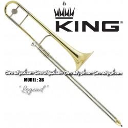 "KING ""Legend"" Professional Slide Tenor Trombone - Lacquer Finish"