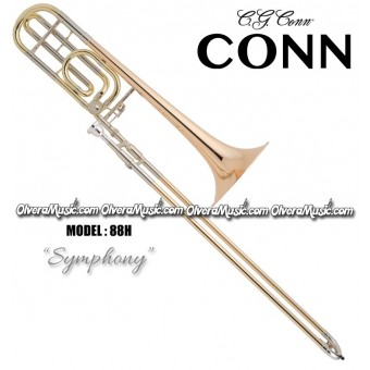 "CONN ""Symphony"" Profesional Slide Tenor Trombone - Lacquer Finish"
