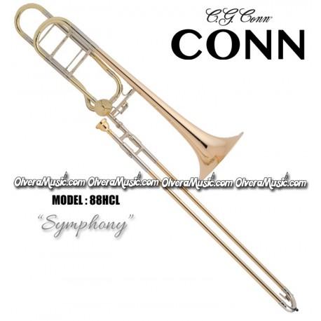 "CONN ""Symphony"" Professional Slide Tenor Trombone - Lacquer Finish"