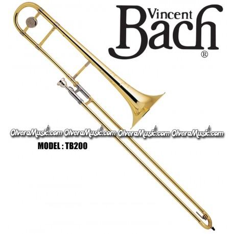 BACH Intermediate Bb Slide Tenor Trombone - Lacquer Finish