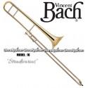 "BACH ""Stradivarius"" Professional Slide Tenor Trombone - Lacquer Finish"