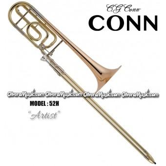 "CONN ""Artist"" Trombon Tenor Intermedio de Vara - Lacquer"