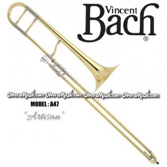"""BACH Stradivarius """"Artisan"""" Trombón Profesional de Vara - Lacquer"""