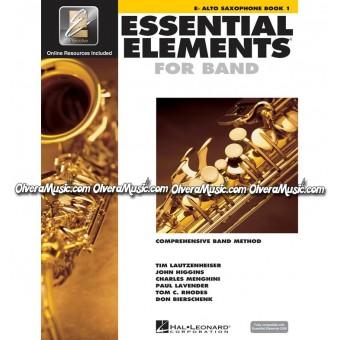 ESSENTIAL ELEMENTS For Band - Saxofón Alto Libro 1