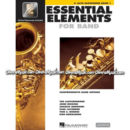ESSENTIAL ELEMENTS For Band - Alto Saxophone Book 1