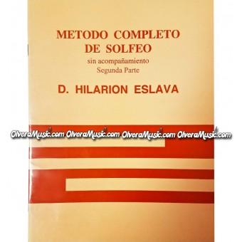 D. HILARION ESLAVA Metodo Completo de Solfeo - Segunda Parte