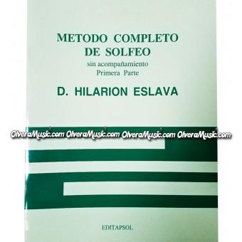 D. HILARION ESLAVA Metodo Completo de Solfeo - Primera Parte