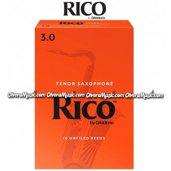 RICO Tenor Saxophone Reeds - Box of 10