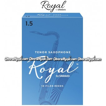 RICO ROYAL Tenor Saxophone Reeds - Box of 10