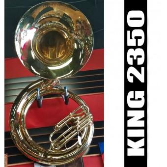 KING 2350 Tuba de Metal Reconstruida