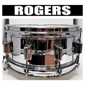 ROGERS Tarola 14x6.5 Dyna-Sonic 10-Afinadores - (USADA)