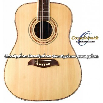 OSCAR SCHMIDT by Washburn Acoustic/Electric 3/4 Guitar - Natural