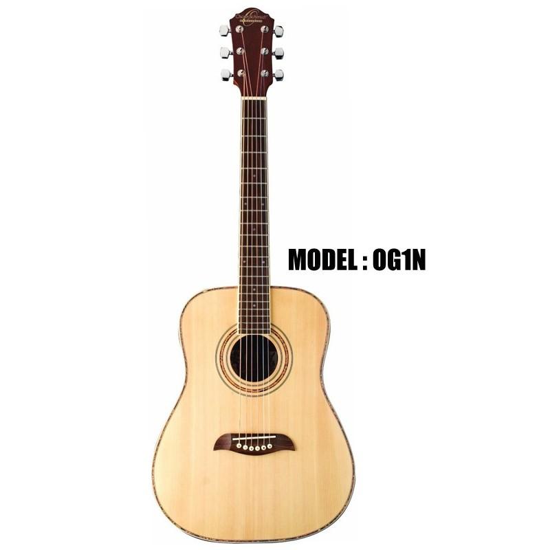 oscar schmidt by washburn acoustic electric 3 4 guitar natural olvera music. Black Bedroom Furniture Sets. Home Design Ideas