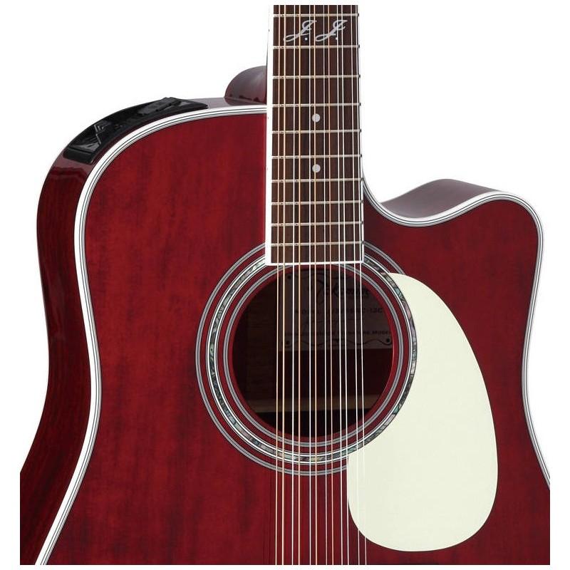 takamine serie john jorgenson guitarra electro acustica de 12 cuerdas rojo brillante olvera. Black Bedroom Furniture Sets. Home Design Ideas