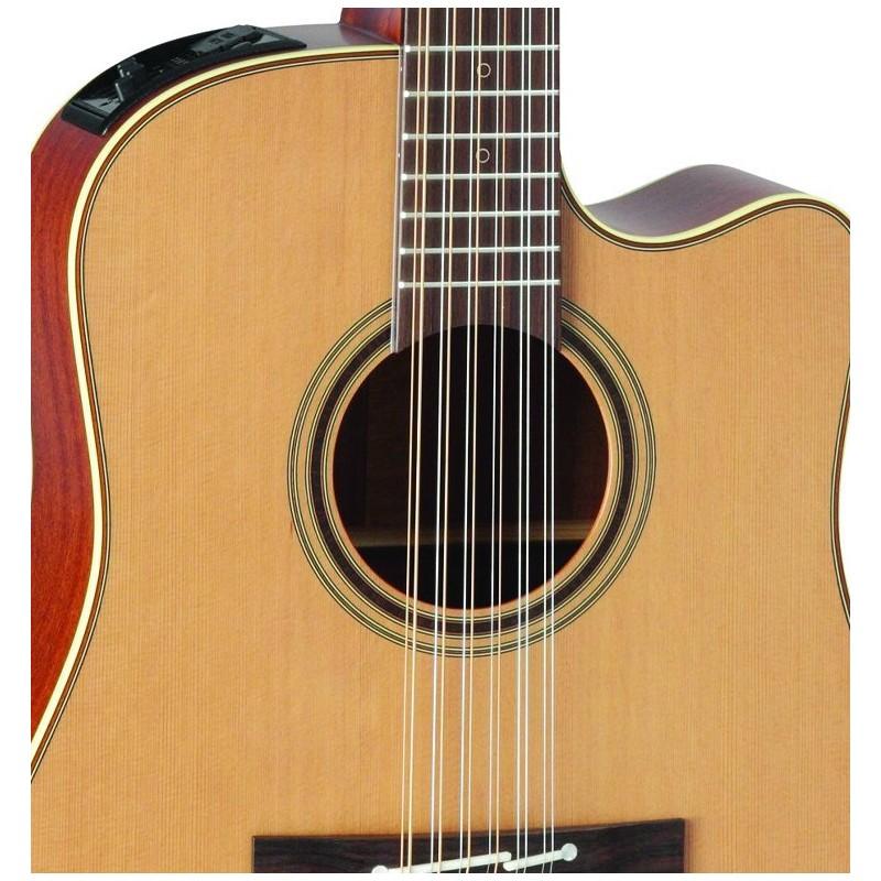 takamine serie pro 3 guitarra electro acustica de 12 cuerdas satin natural olvera music. Black Bedroom Furniture Sets. Home Design Ideas