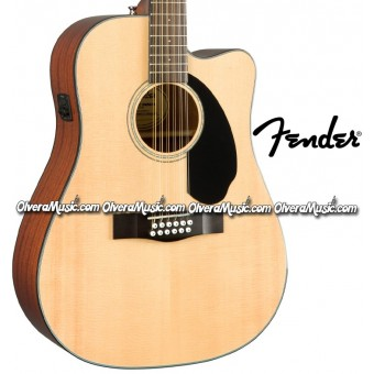 FENDER 12-String A/E Guitar - Natural