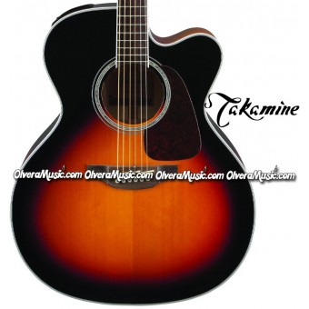 TAKAMINE G70 Series Acoustic/Electric Jumbo 6-String Guitar - Sunburst