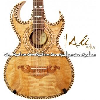 ALI ACHA Professional Bajo Quinto Maple Wood