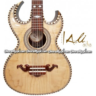 ALI ACHA Professional Bajo Quinto Maple Top