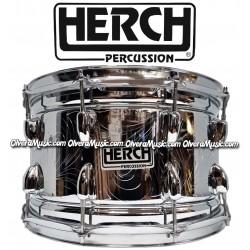 HERCH Snare 14x8 Chrome/Engraved 10-Lug