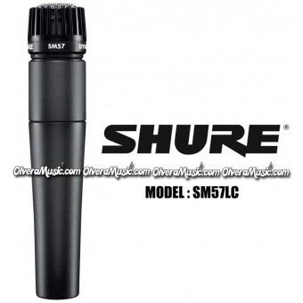 SHURE Dynamic Instrument Microphone - SM Series