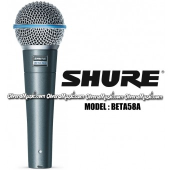 SHURE Dynamic Vocal Microphone - Super Cardioid Dynamic Mic