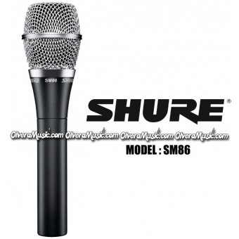 SHURE Condenser Vocal Microphone - SM Series