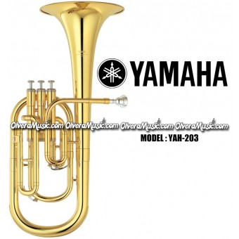 YAMAHA Eb Standard Alto Horn - Lacquer Finish