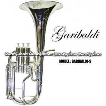 GARIBALDI Eb Alto Horn - Silver Plate Finish