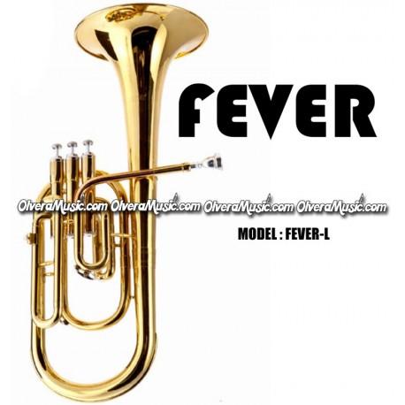 Alto Horns Musical Instruments & Gear Fever Deluxe Alto Horn Lacquer
