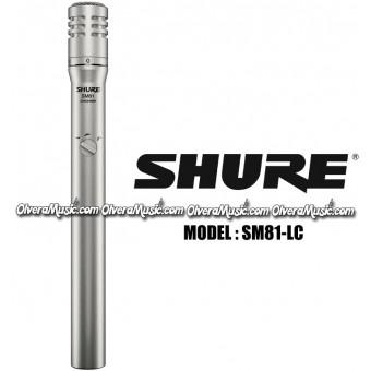 SHURE Condenser Instrument Microphone - Cardioid