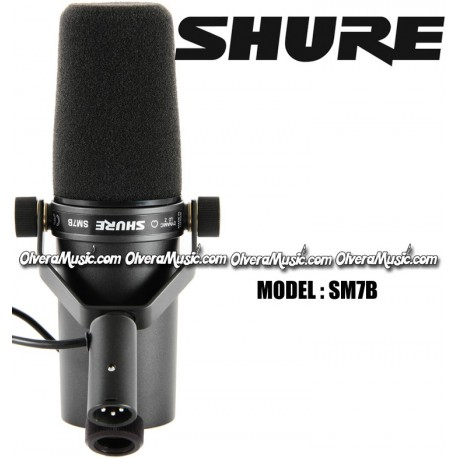 SHURE Studio Vocal Microphone