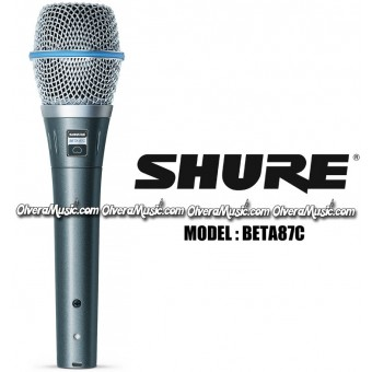 SHURE Condenser Vocal Microphone