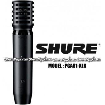 SHURE Condenser Instrument Microphone