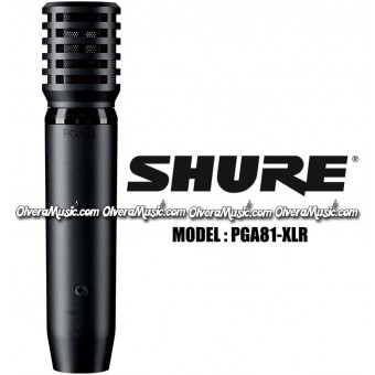 SHURE Micrófono Condensador para Instrumentos